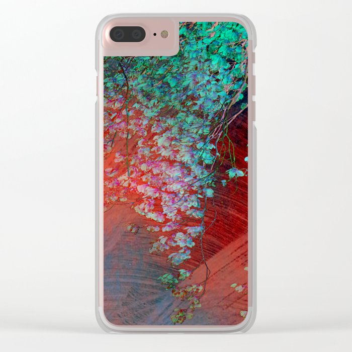 fantasy tree Clear iPhone Case