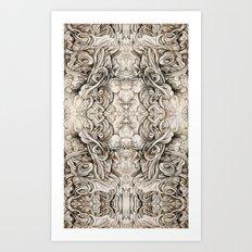 Cruciform Art Print