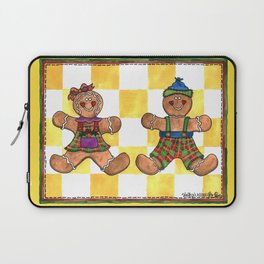 The Gingerbread Twins Laptop Sleeve