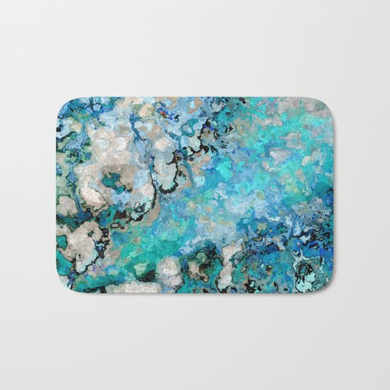 Marble Art V7 Bath Mat