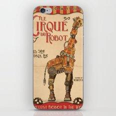 Robot Circus - Giraffe iPhone & iPod Skin