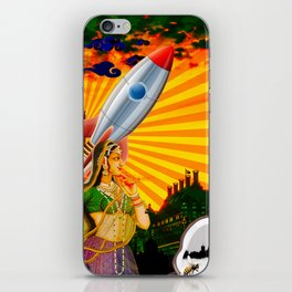 Rockets and Coconuts iPhone Skin