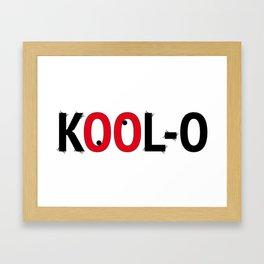 Kool-O Framed Art Print
