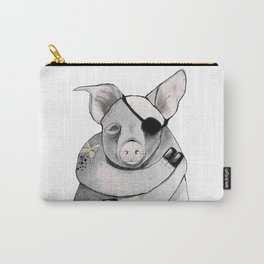 Living Pig Carry-All Pouch