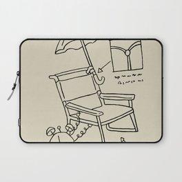 Homer's Time Machine Laptop Sleeve