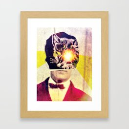 Gentleman Fox Framed Art Print