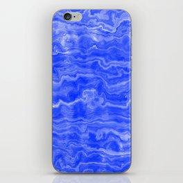 Egyptian Marble, Lapis Blue iPhone Skin