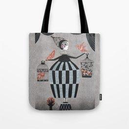 The Bird Act Tote Bag