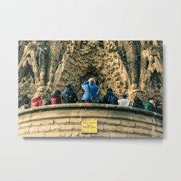Sagrada Familia, Barcelona, Spain Metal Print