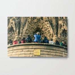 Sagrada Familia, Barcelona, Spain Metal Print