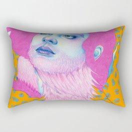 Natalie Foss x Deap Vally Rectangular Pillow