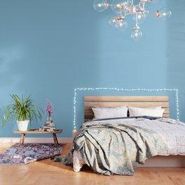 Cornflower - solid color Wallpaper