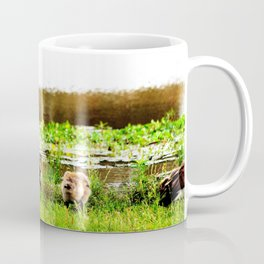 Canada Goose and Goslings Coffee Mug