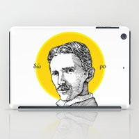 tesla iPad Cases featuring St. Tesla by Kexit guys