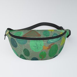 squirrel in forest Fanny Pack