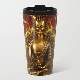 Medizinbuddha und 1000 blättriger Lotus Travel Mug