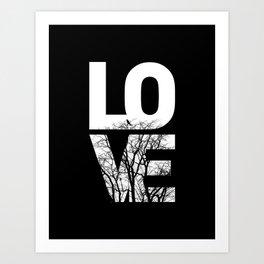 LOVE NO2 Art Print