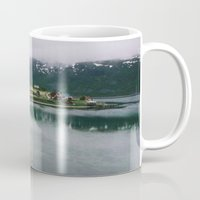 norway Mugs featuring Norway by A. Serdyuk