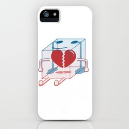 Little Box of Broken Heart iPhone Case