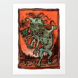 Magonian Visitor 1 Art Print
