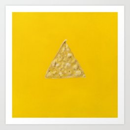 Tortilla Chip Art Print