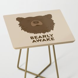 BEARLY AWAKE Side Table