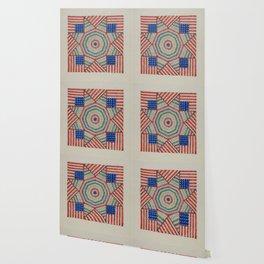 Americana Quilt Wallpaper