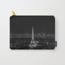 Eiffel Tower Paris City Night Carry-All Pouch