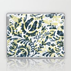 Blue Flowers Pattern Laptop & iPad Skin