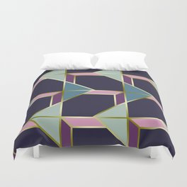 Ultra Deco 3 #society6 #ultraviolet #artdeco Duvet Cover