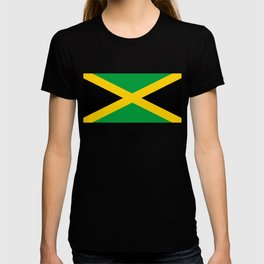 Flag of Jamaica - Jamaican flag T-shirt