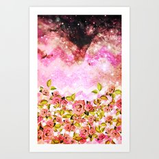 Space Roses - for iphone Art Print