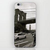 brooklyn bridge iPhone & iPod Skins featuring Brooklyn Bridge by Grace