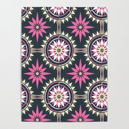 Daisy Chain (Patterned) Poster