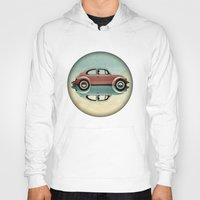 bug Hoodies featuring love bug by Vin Zzep