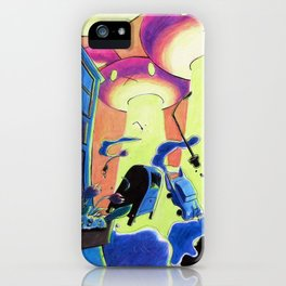 They Came From Carrot Space iPhone Case
