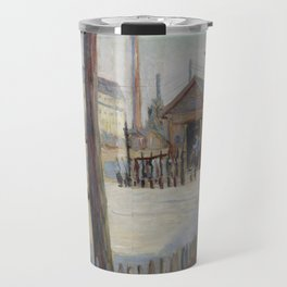 Railway Junction near Bois-Colombes Travel Mug