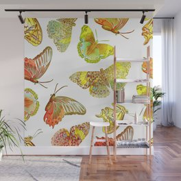 Butterfly Obsession Wall Mural