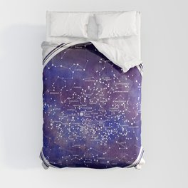 Star Map IV Comforters
