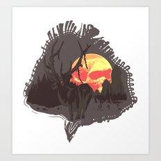 dusky Art Print