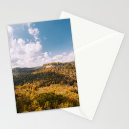 View from Chimney Top Rock - Red River Gorge, Kentucky Stationery Cards
