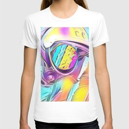 Space Peeps Astronaut Rainbow Sherbert T-shirt