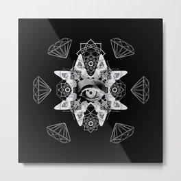 Dark Light Series Metal Print