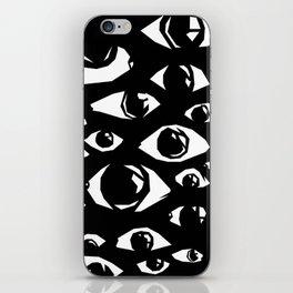 eyes eyes baby iPhone Skin