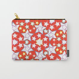 pattern with stars Carry-All Pouch