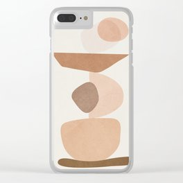 Balancing Elements II Clear iPhone Case