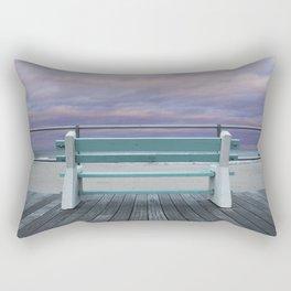 Jersey Shore Bench Rectangular Pillow