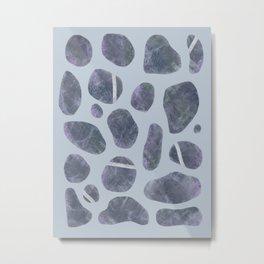 Stones, Pebbles, Rocks Metal Print