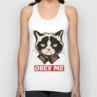 obey Tank Tops featuring OBEY by solomnikov