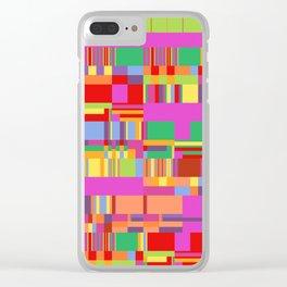 Debussy Little Shepherd (Jelly Bean Colours) Clear iPhone Case